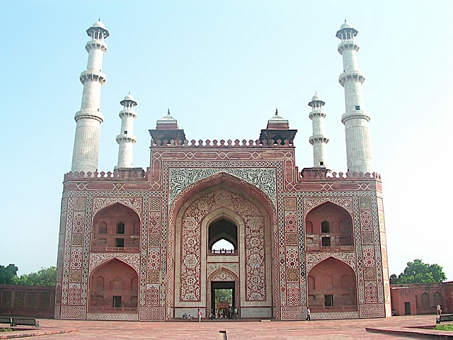 Agra City Of Love Monument