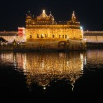 Amritsar - golden temple night view