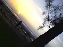 Sun Set At Jampore Beach
