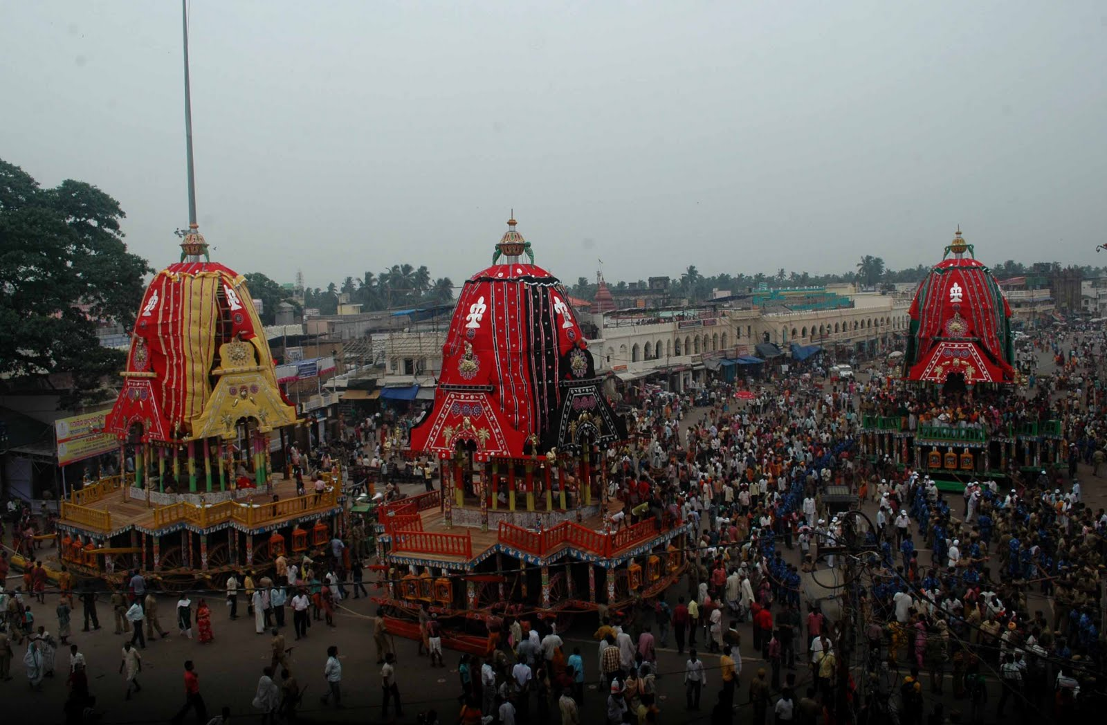 The Great Rath Yatra of Puri