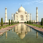 India Famous Tourist Places - Tajmahal