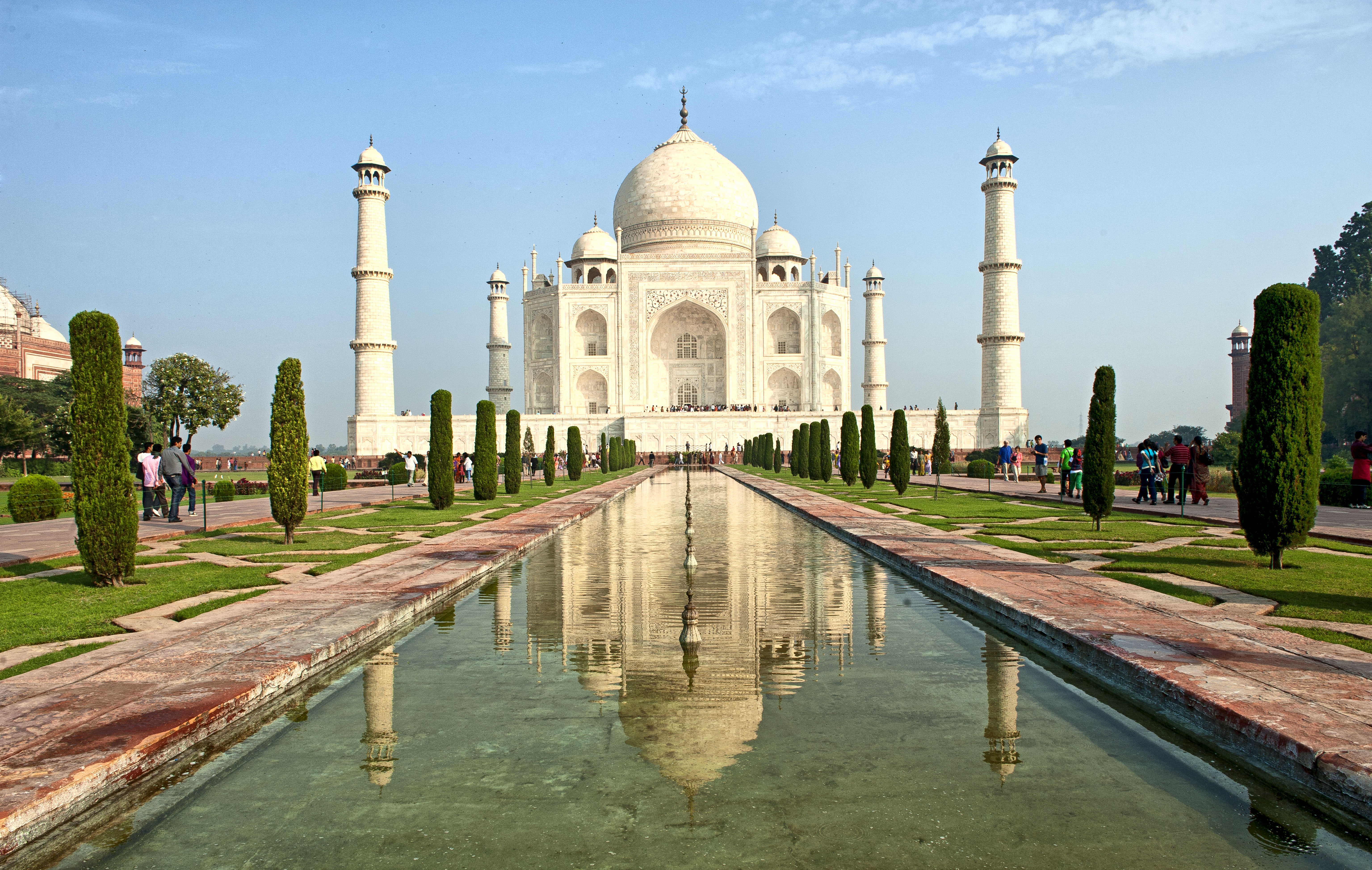 India Famous Tourist Places - Tajmahal