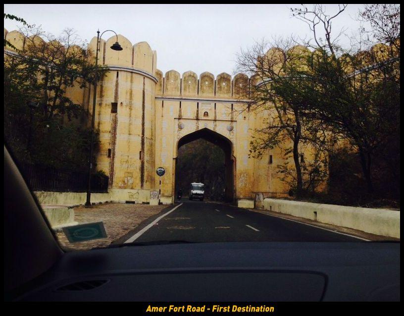 Amer Fort Road - First Destination